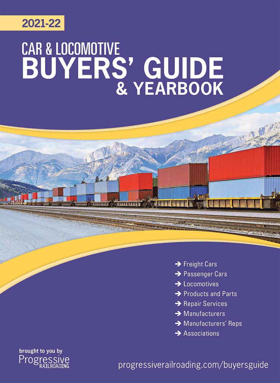 Car and Locomotive Yearbook and Buyers' Guide